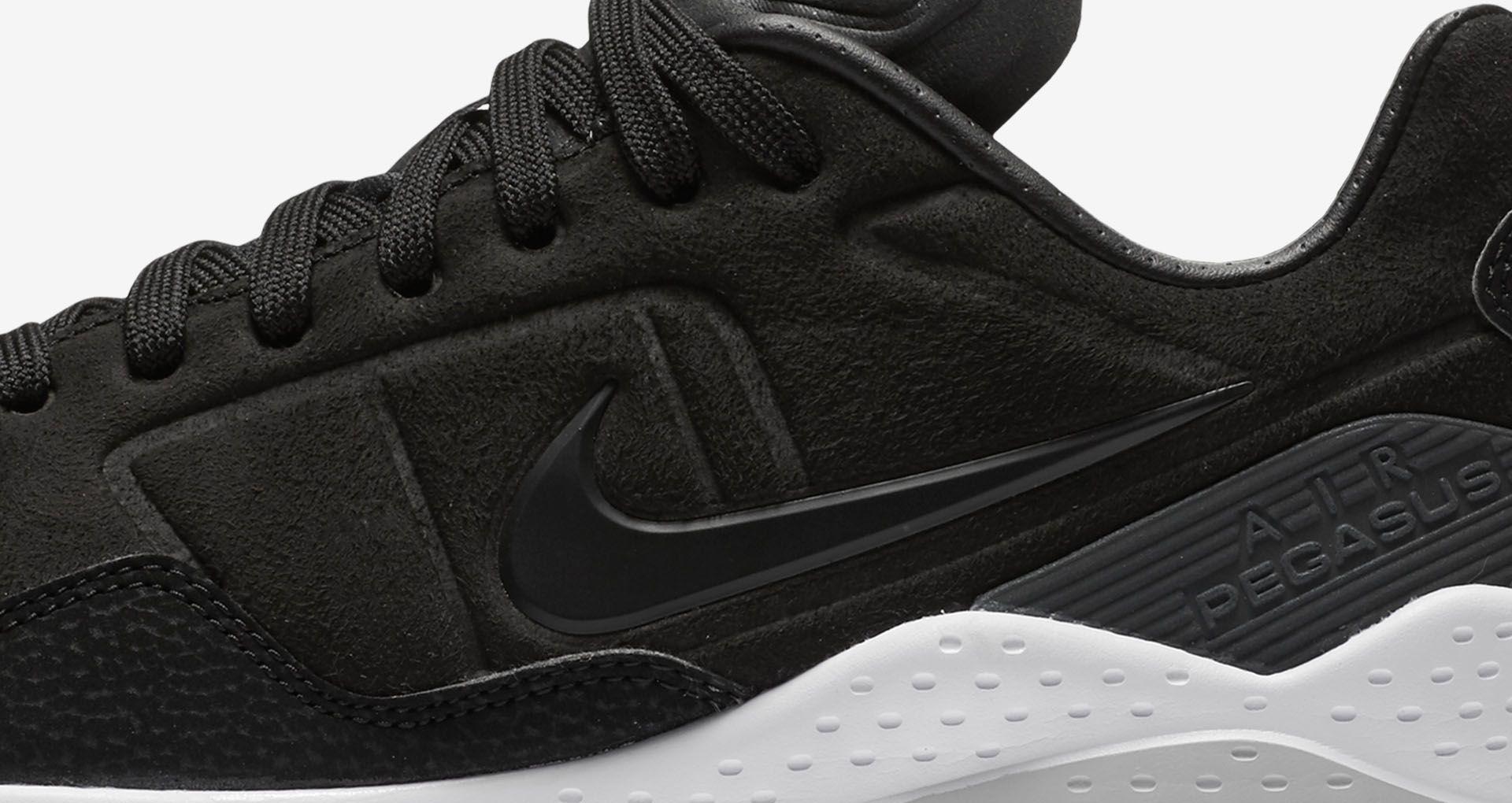 los angeles 8dd08 ef074 Nike Air Zoom Pegasus 92 'Black & White'. Nike+ SNKRS