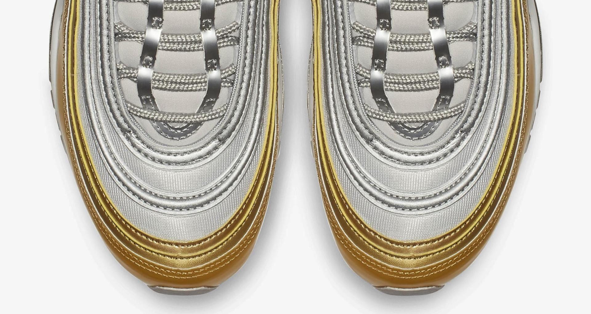 Nike Air Max 97 SE Vast GreyMetallic Gold Women's Shoe