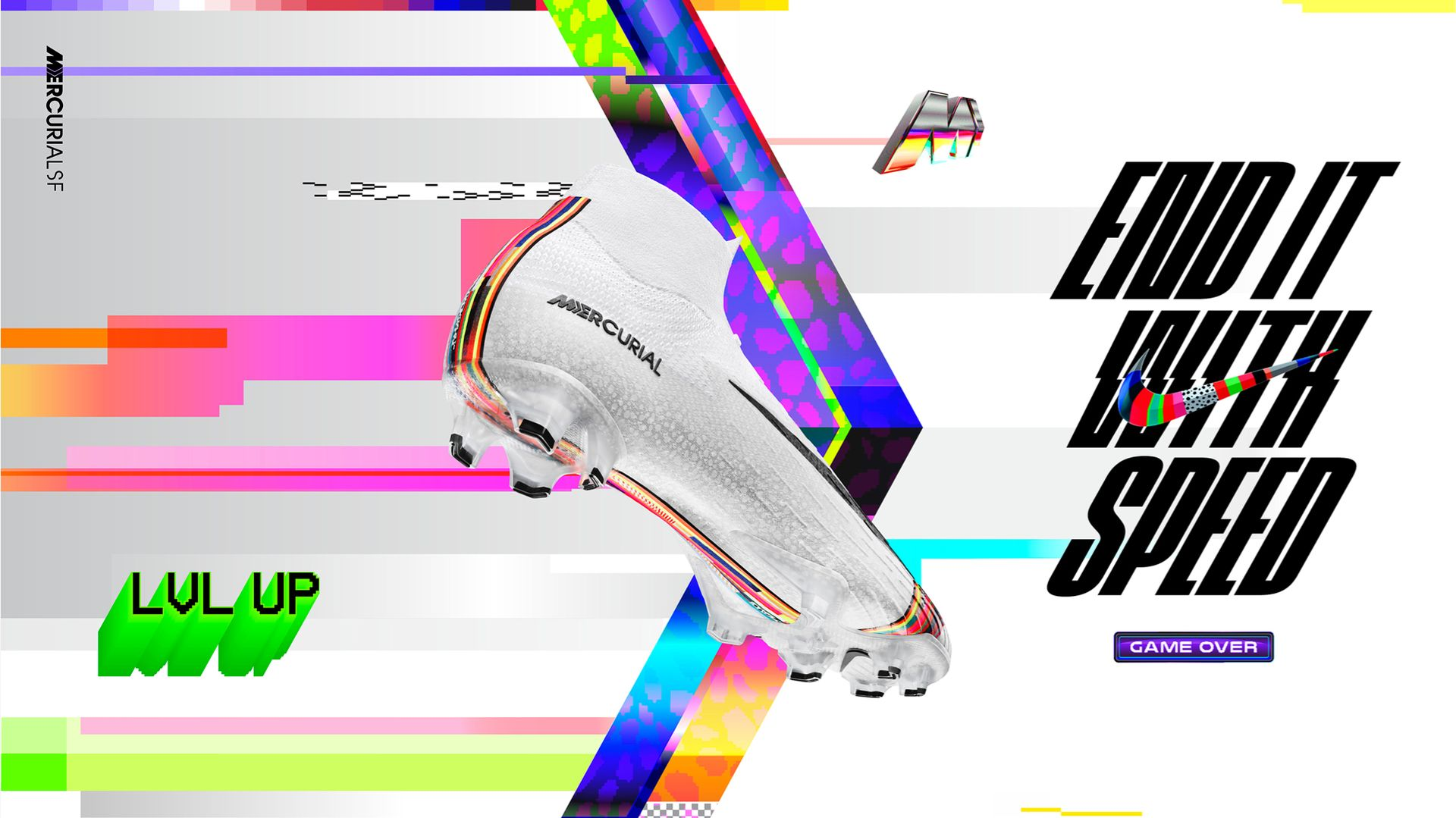 ca1803f1e81b Firm-Ground Soccer Cleat. Mercurial Superfly 360  LVL UP