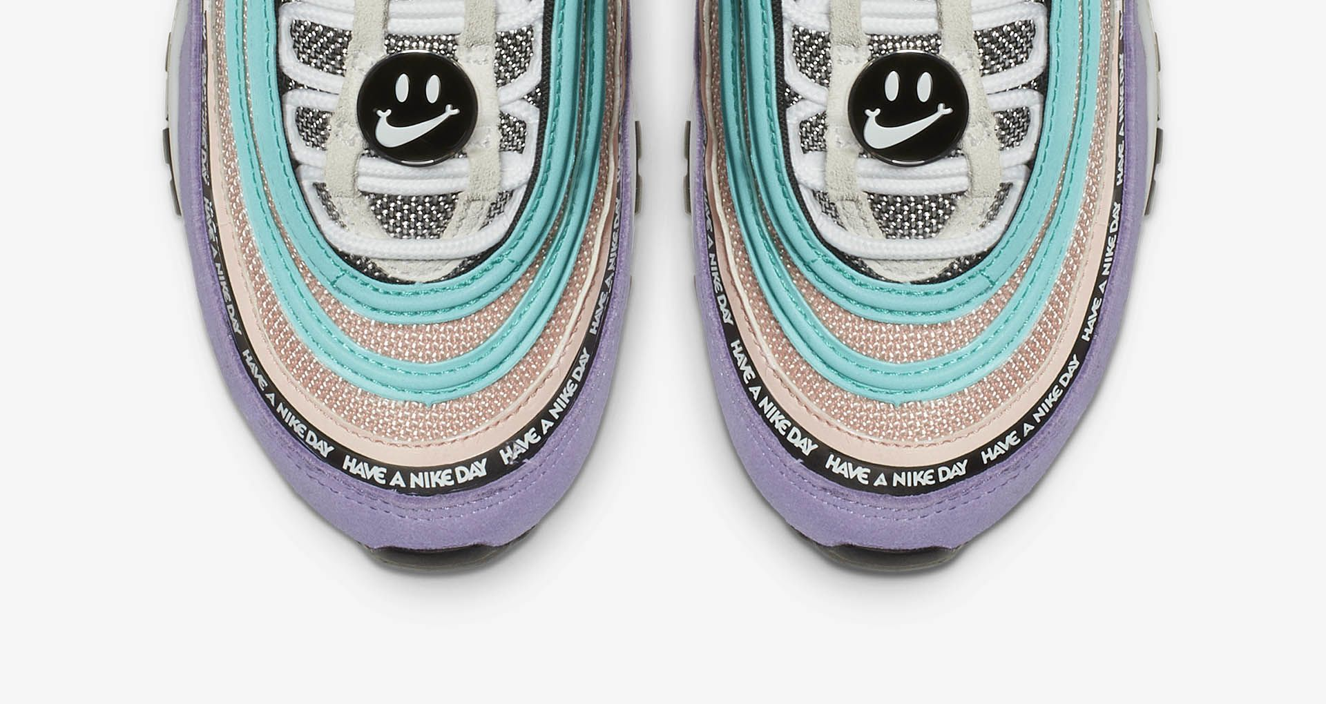 692069e995f 大童Nike Air Max 97 Have A Nike Day 'Space Purple & Black' 发布 ...