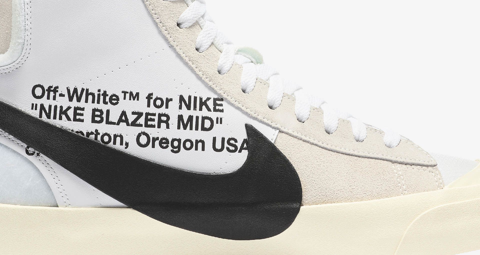 new york 9c50e ac253 Nike The Ten SB Blazer Mid 'Off White' Release Date. Nike+ ...