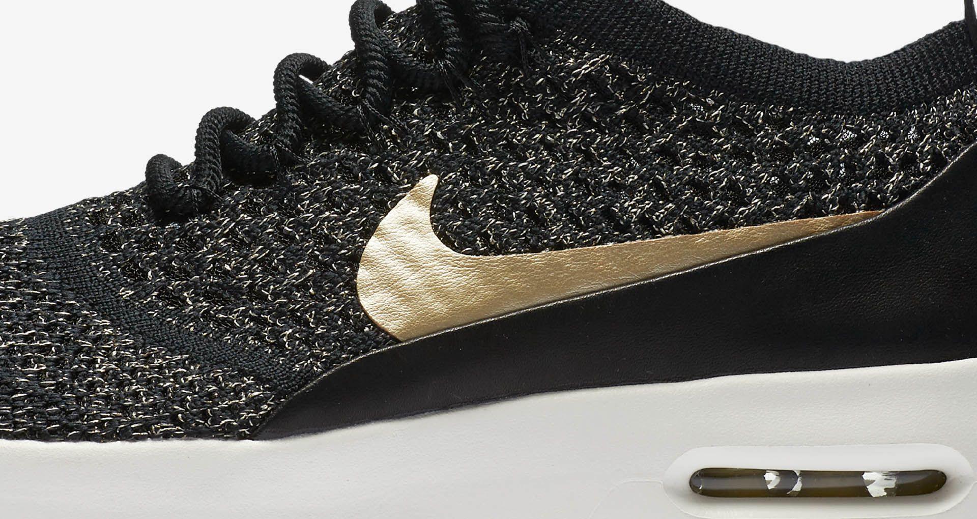 quality design 868de 1c3e0 Women's Nike Air Max Thea Ultra Flyknit Metallic 'Black ...