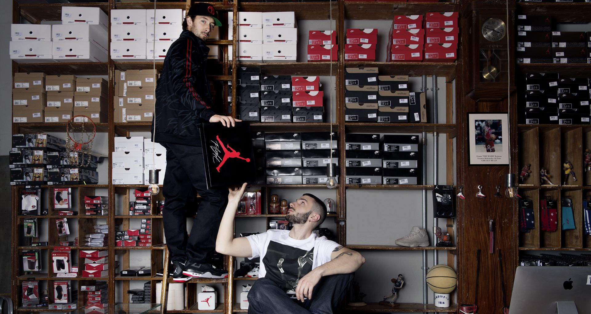 5927166b3e48 Sneakers Talk with Andrea Capone and Marco Evangelisti.. Nike+ ...