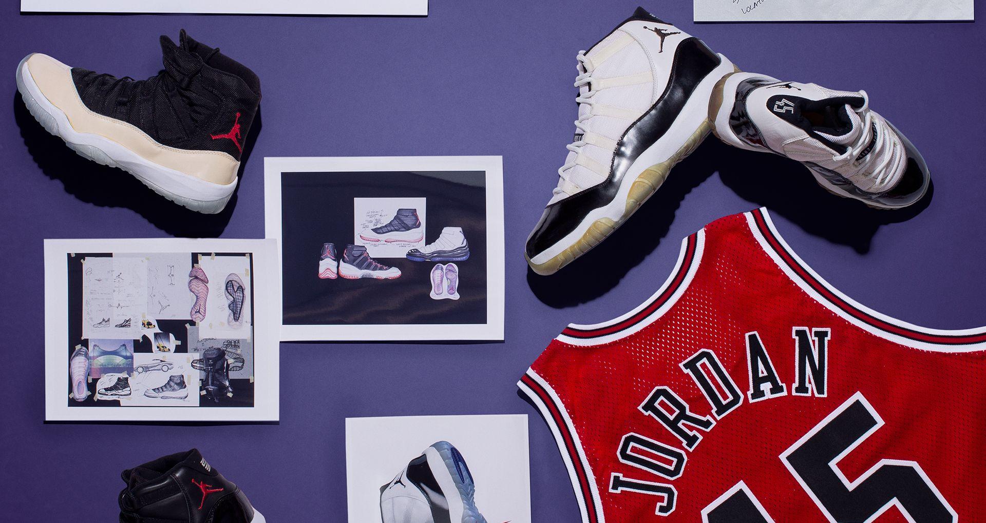 3f9a7c94b4f3f6 Behind The Design  Air Jordan 11 OG. Nike+ SNKRS