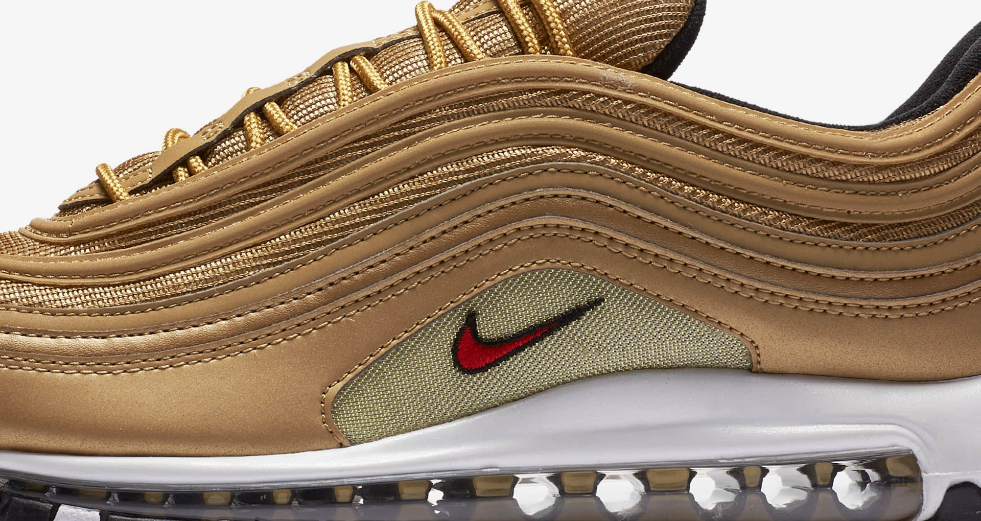 sports shoes 1e986 f4caa Nike Air Max 97 OG QS 'Metallic Gold' Release Date. Nike+ SNKRS