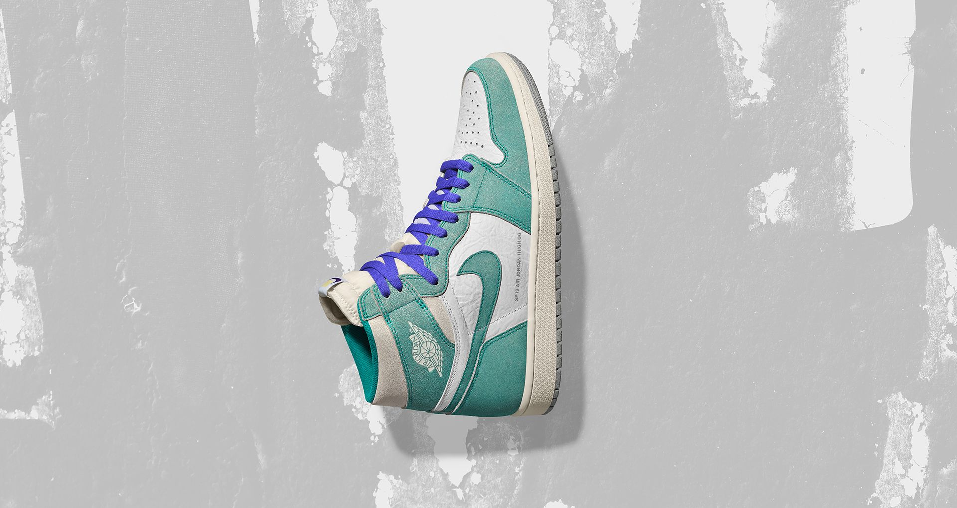 """9c14bbb5b51 Taking inspiration from the 90s and Charlotte Hornets, the Air Jordan I  """"Flight Nostalgia"""" pays tribute to the city for hosting its first NBA All  Star game."""