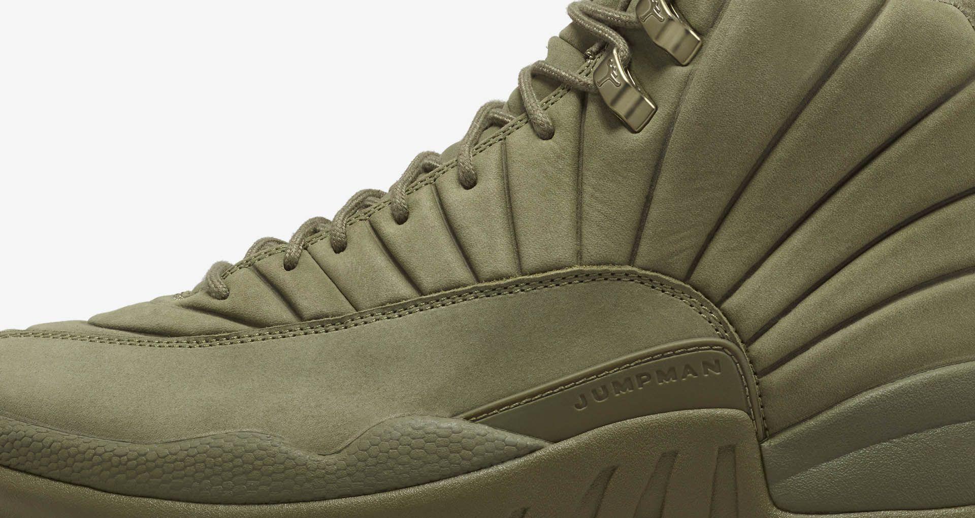 3928958094d2 Air Jordan 12 Retro PSNY  Medium Olive  Release Date. Nike+ Launch LU