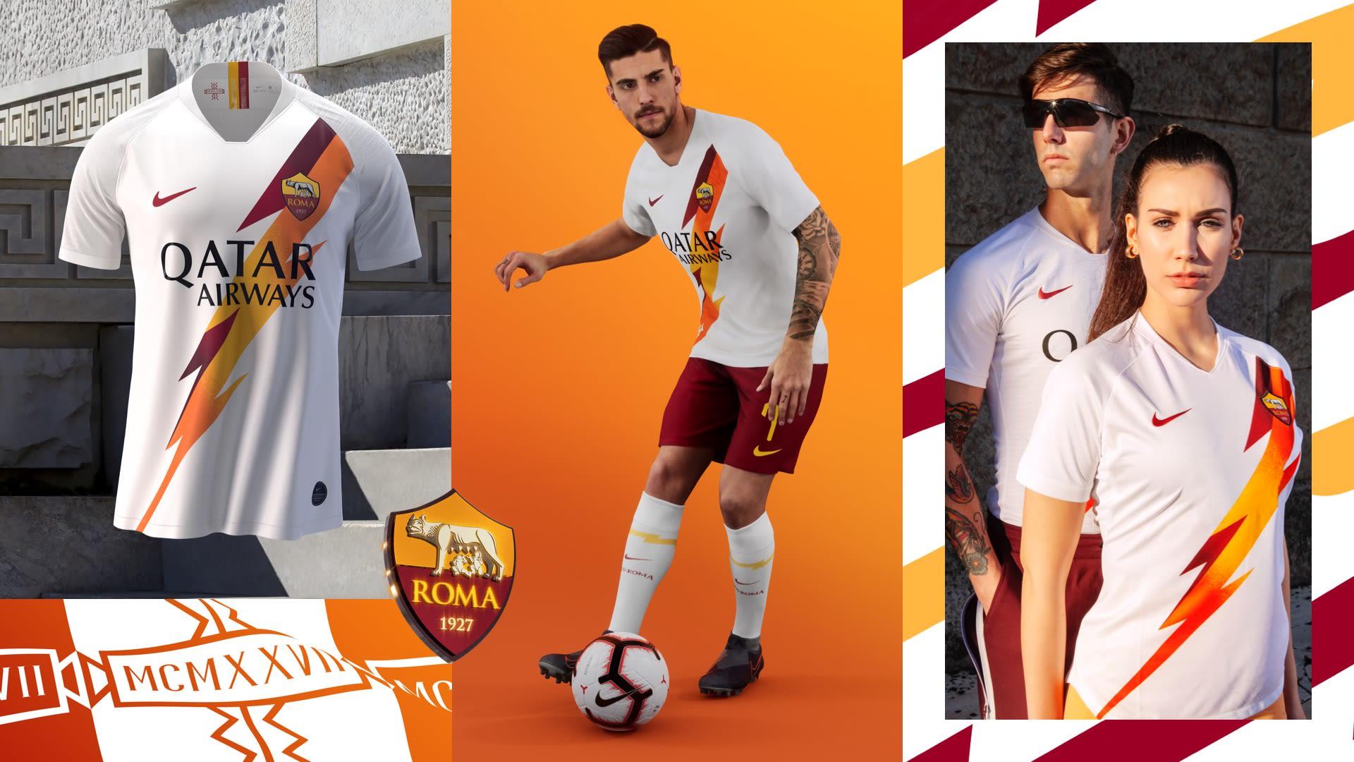 As Roma Stadium Away Jersey