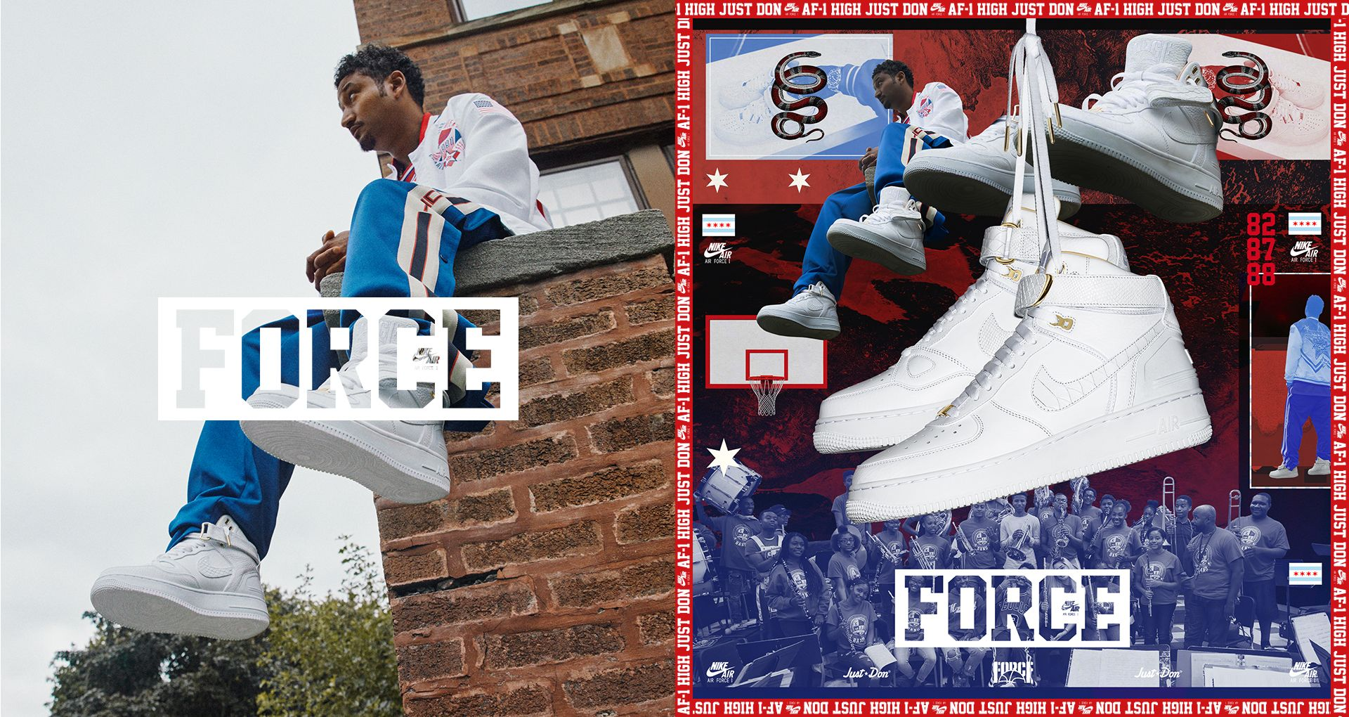 abb9e62d0ae624 Nike Air Force 1  Just Don  Release Date. Nike+ SNKRS