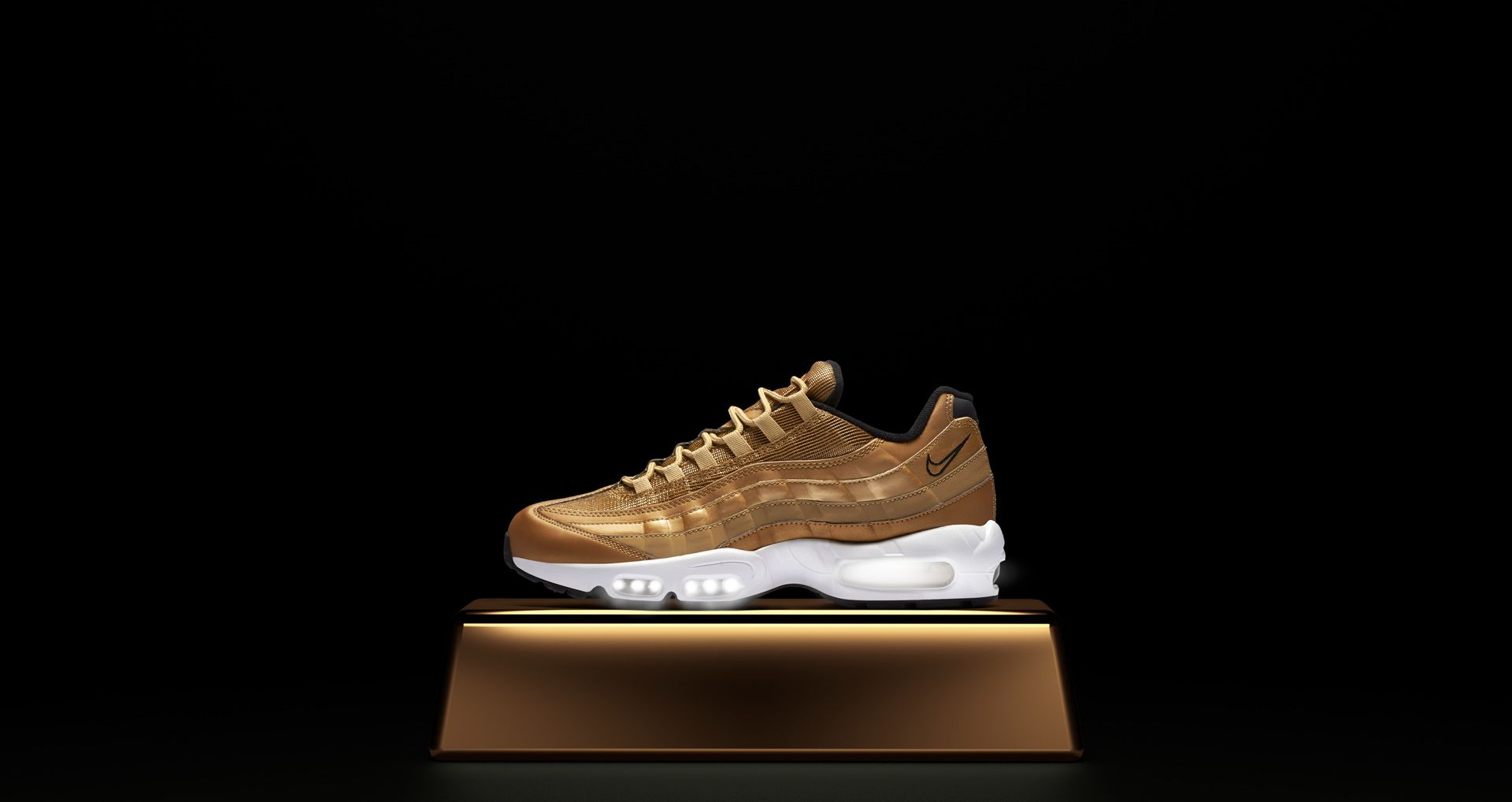 separation shoes 51fa5 a79d7 Nike Air Max 95 Metallic Gold Release Date. Nike⁠+ SNKRS