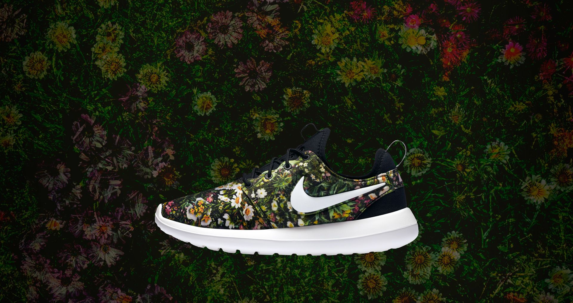sports shoes fb156 5ce77 Women's Nike Roshe Two Print 'Spring Garden'. Nike+ SNKRS