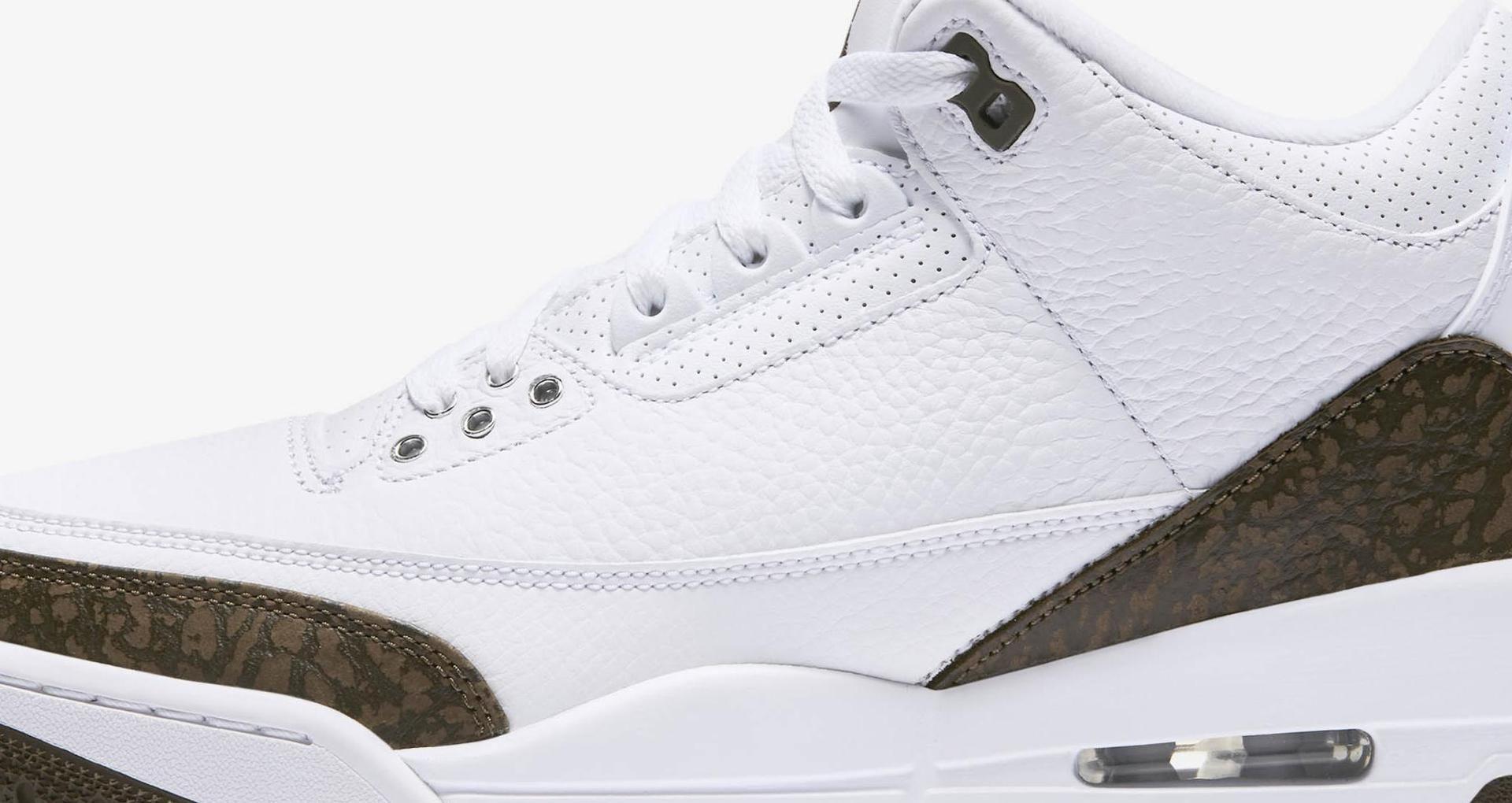 competitive price 31c73 f2339 Air Jordan 3 Retro  White   Chrome   Dark Mocha  Release Date