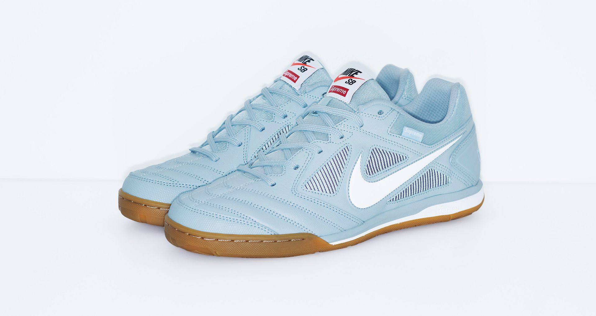 best wholesaler great fit cheap for sale Nike SB Gato Qs Supreme 'Light Armory Blue & White' Release ...