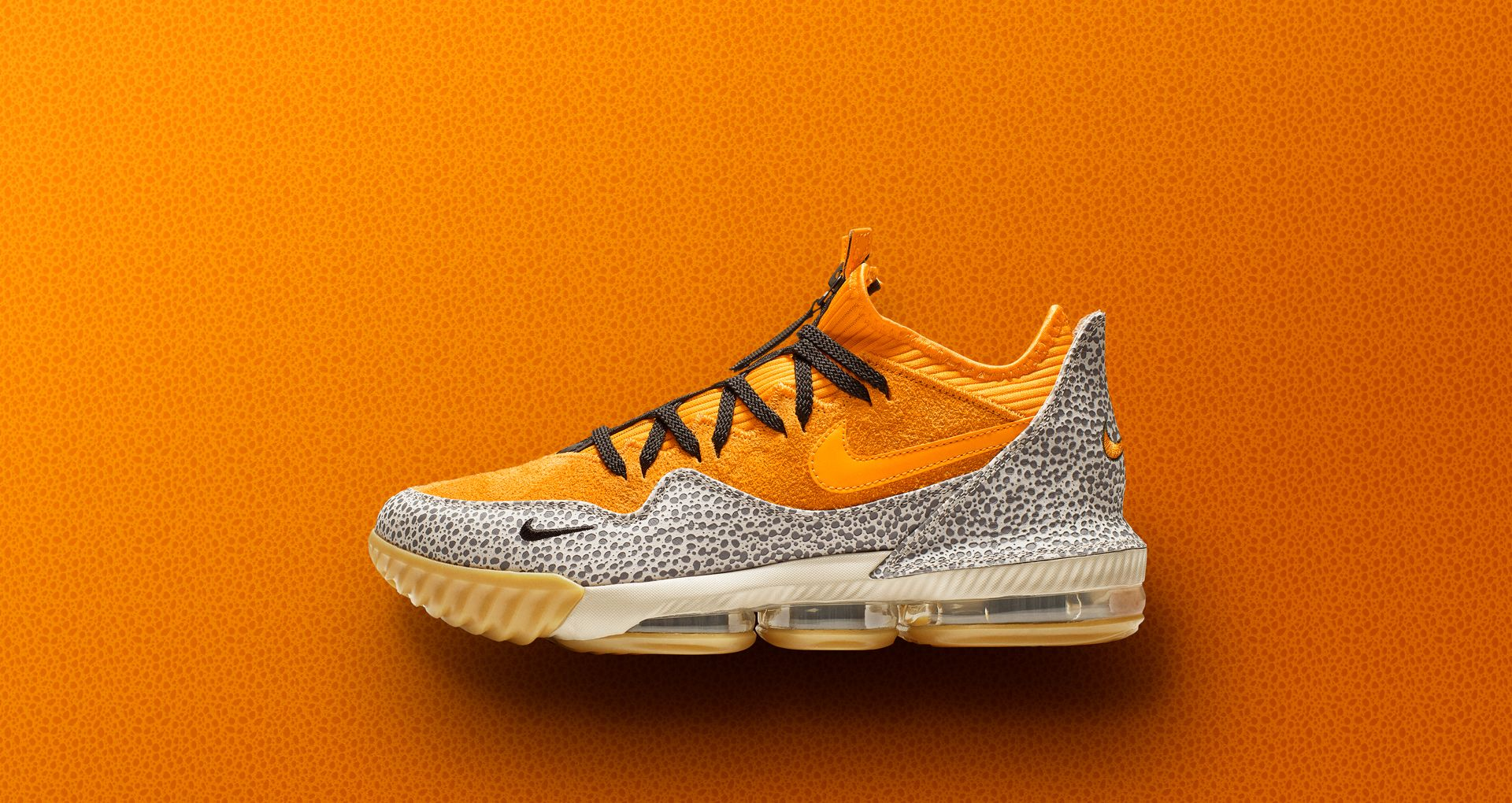 huge discount 8a4cc d596b Nike LeBron 16 Low Atmos 'Safari' Release Date. Nike⁠+ SNKRS
