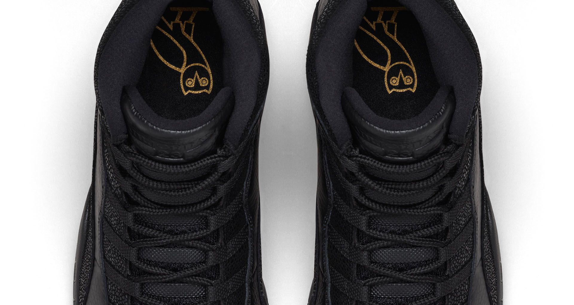 c3a6e26002eae Air Jordan 10 Retro  OVO   Black  Release Date. Nike+ SNKRS
