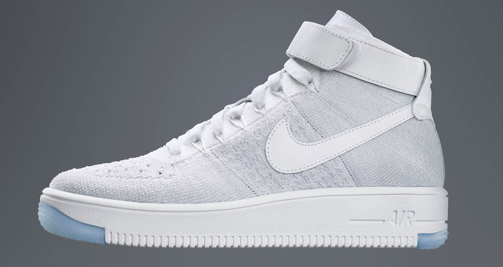 Nike Air Force 1 Ultra Flyknit Low White Ice