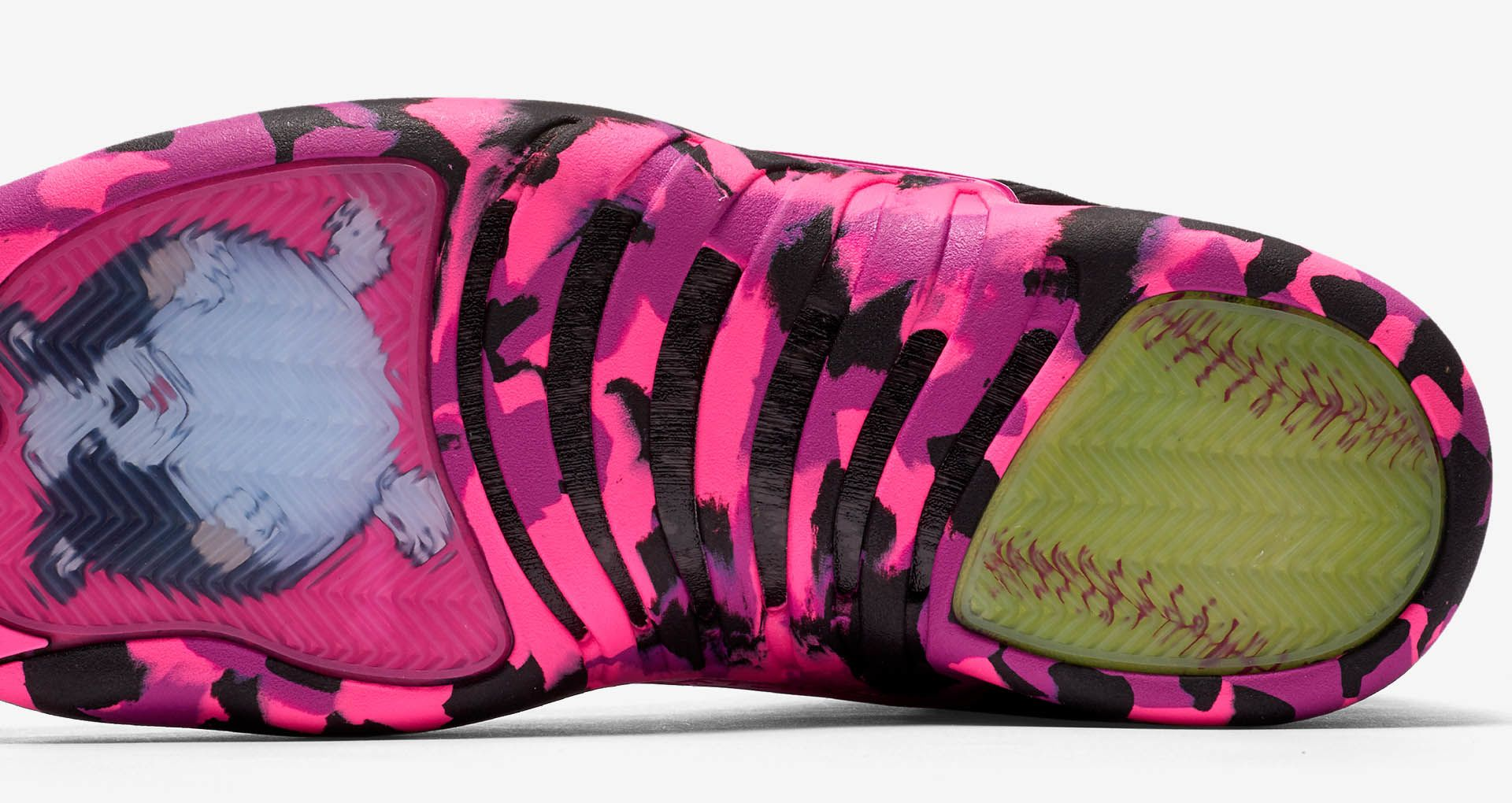 hot sales b3b08 03273 Air Jordan 12 Retro Doernbecher Freestyle 2017  Black   Pink Blast  ...