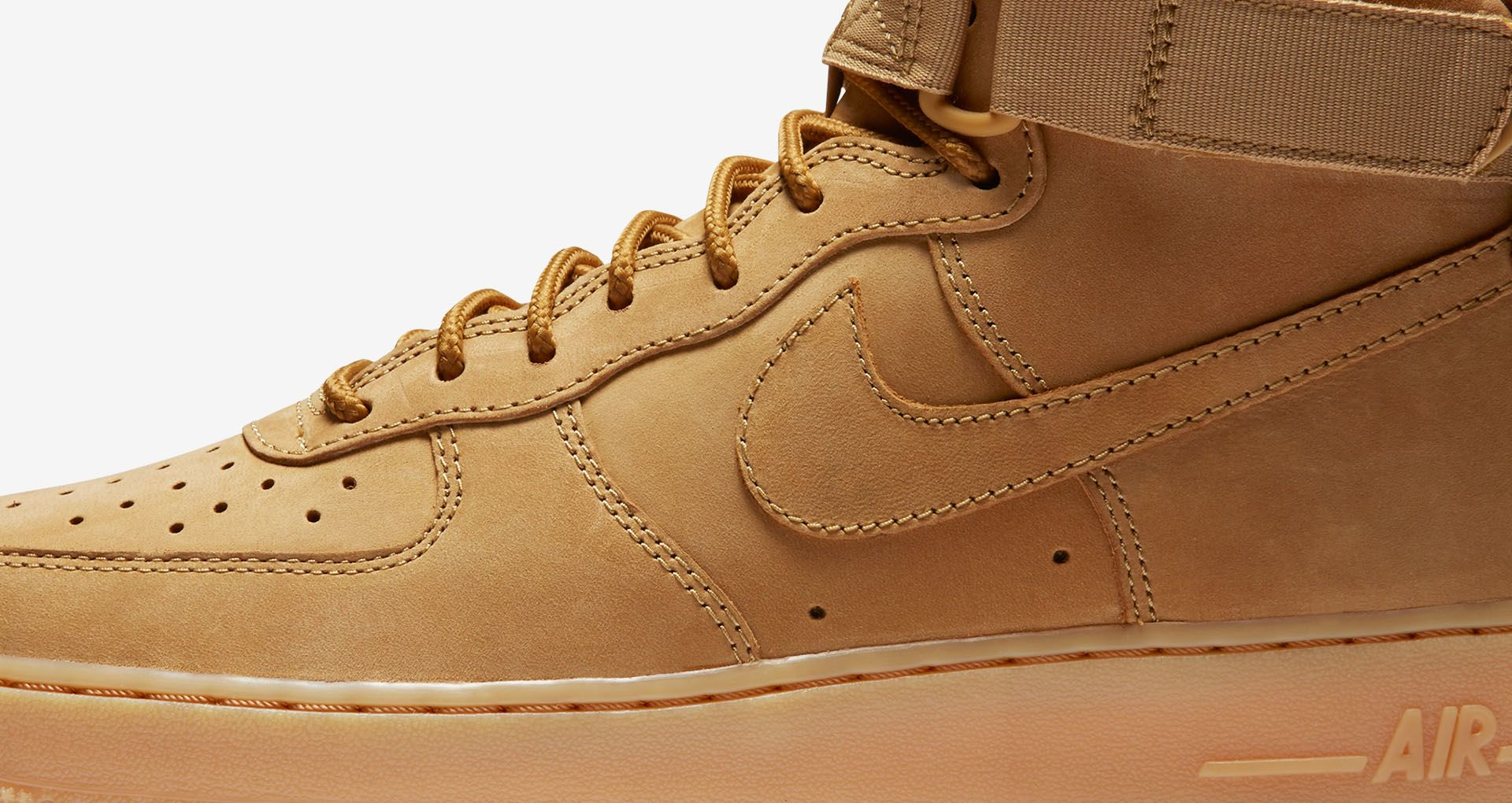 best cheap fc72c 79c2c Nike Air Force 1 High Workboot  Flax . Release date