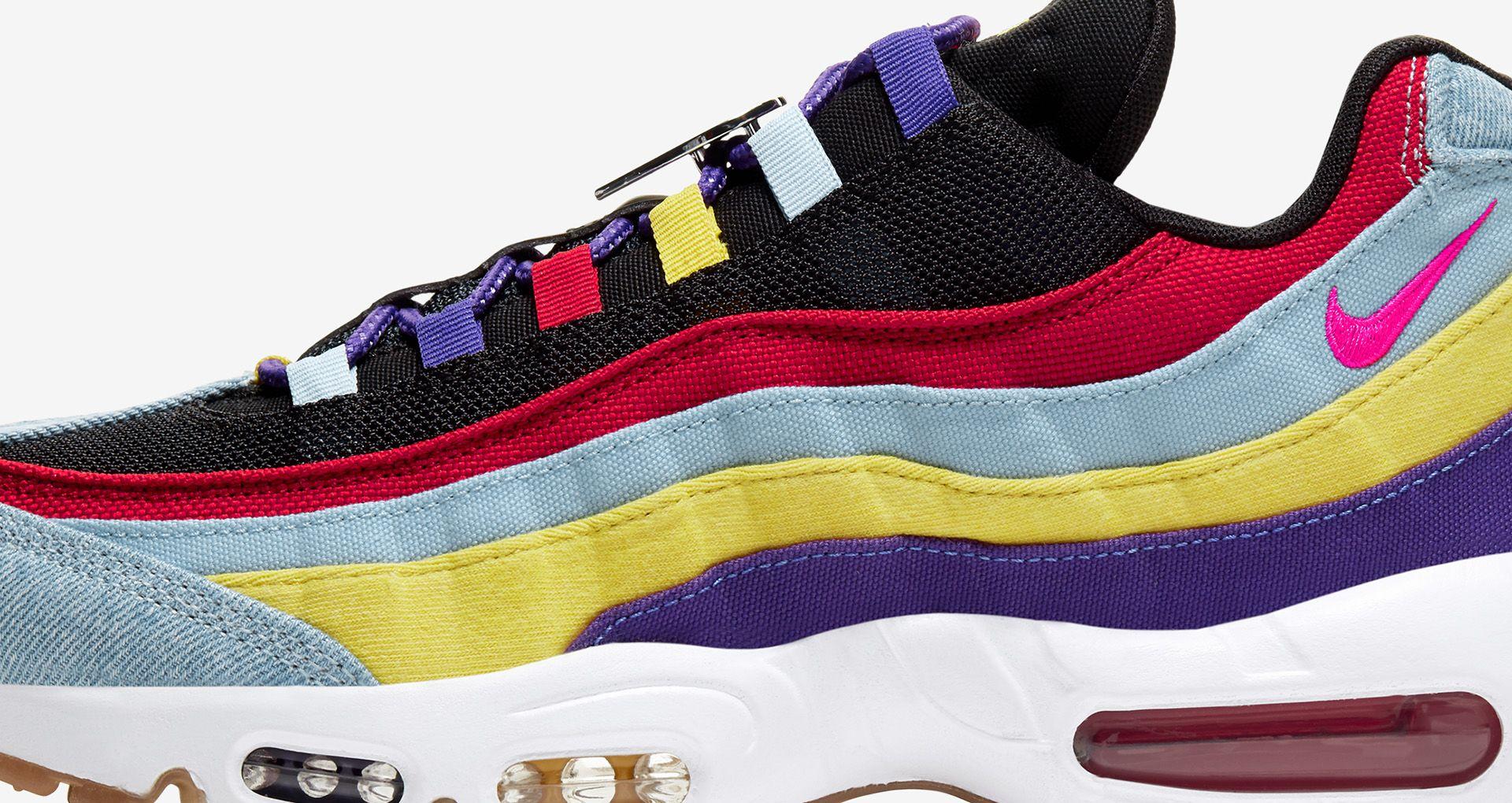 7Y Nike Air Max 95 pink and purple