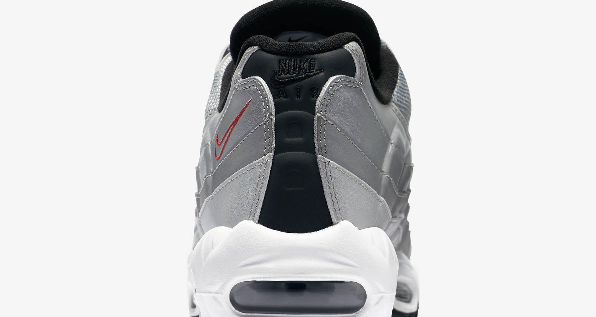 a288446d7a21 Nike Air Max 95 Premium 'Metallic Silver'. Nike+ SNKRS