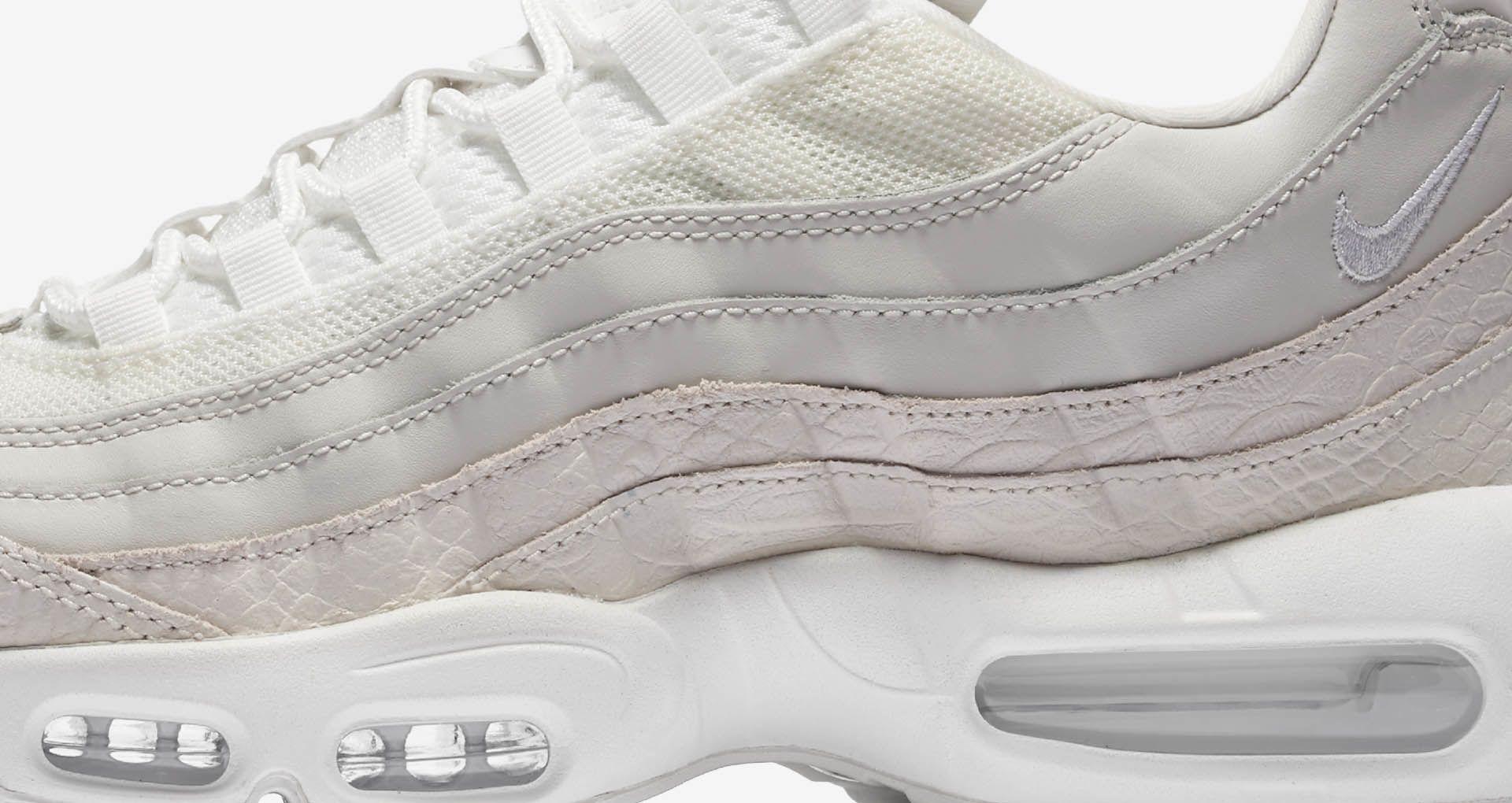 04ae20e302 Nike Air Max 95 Premium 'Summit White' Release Date. Nike+ SNKRS