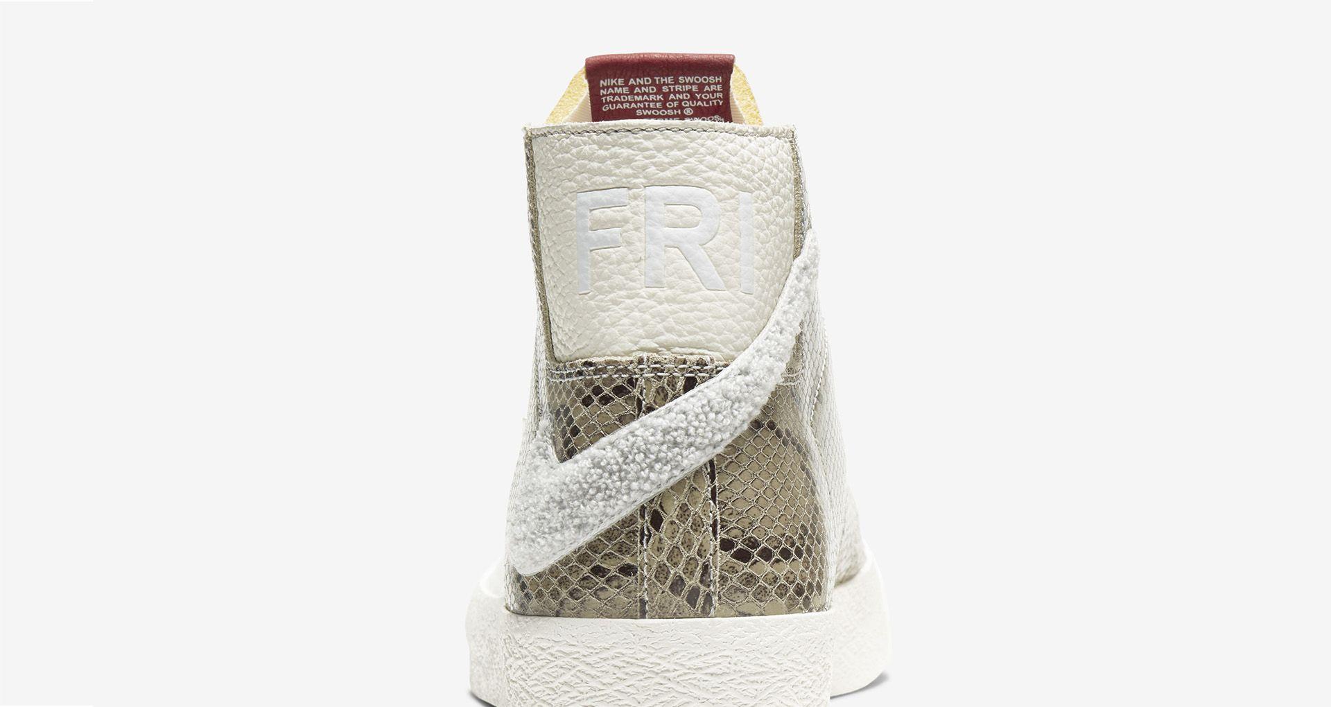 Soulland x Nike SB Blazer Mid 'Snakeskin' Release Date