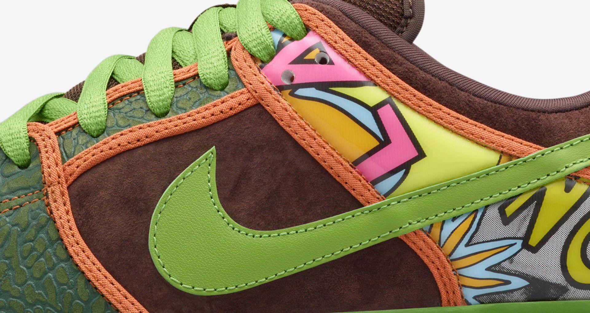 best sneakers c0dd2 fd6ba Nike Dunk Low SB 'De La Soul'. Nike+ SNKRS