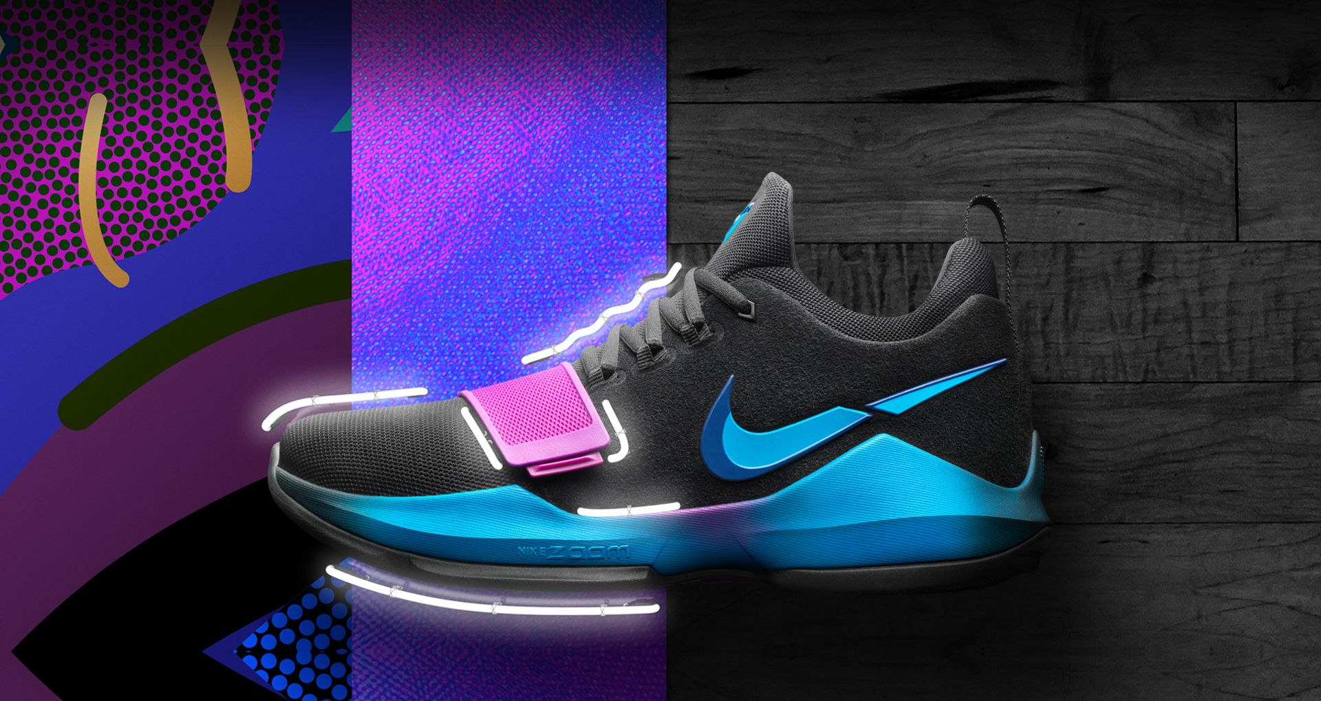 850d3cbf3bf Nike PG1  Flip The Switch . Nike+ SNKRS