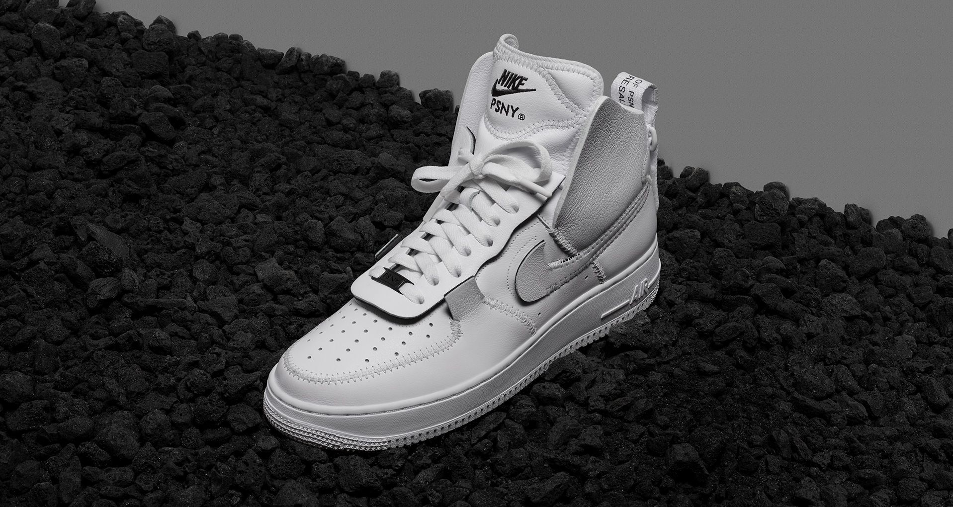 Nike Air Force 1 High PSNY 'Triple White' Release Date. Nike ...