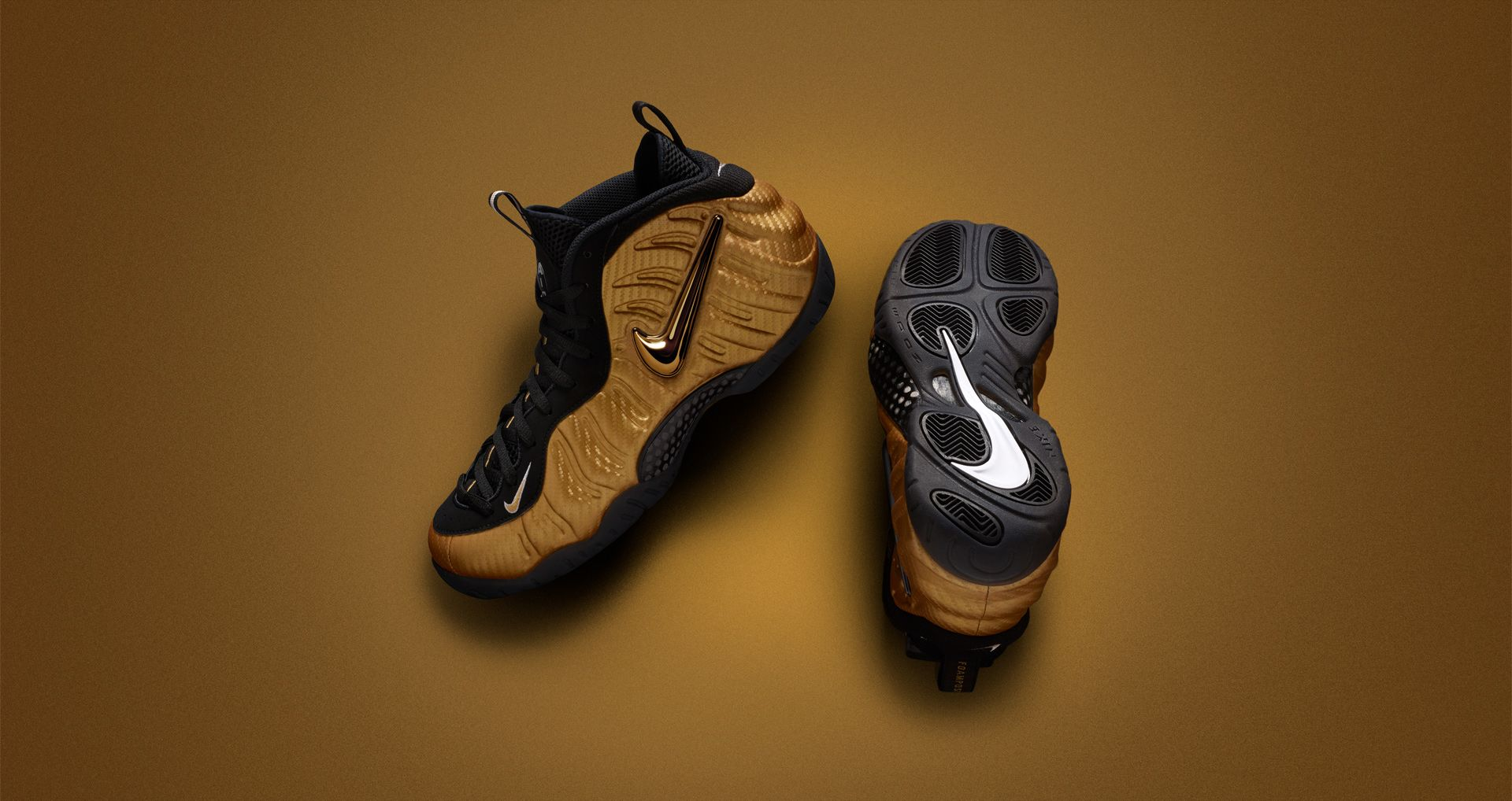 the latest a8f3b 149bf Nike Air Foamposite Pro 'Metallic Gold' Release Date. Nike⁠+ ...