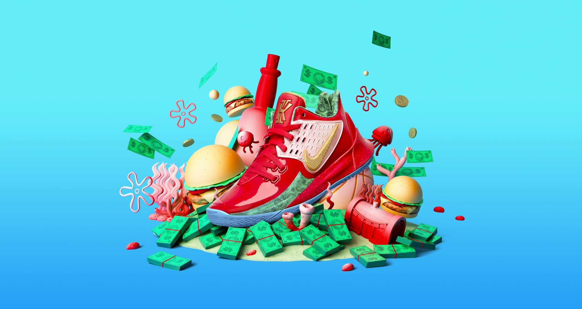 Kyrie Low 2 Mr Krabs Release Date Nike Snkrs