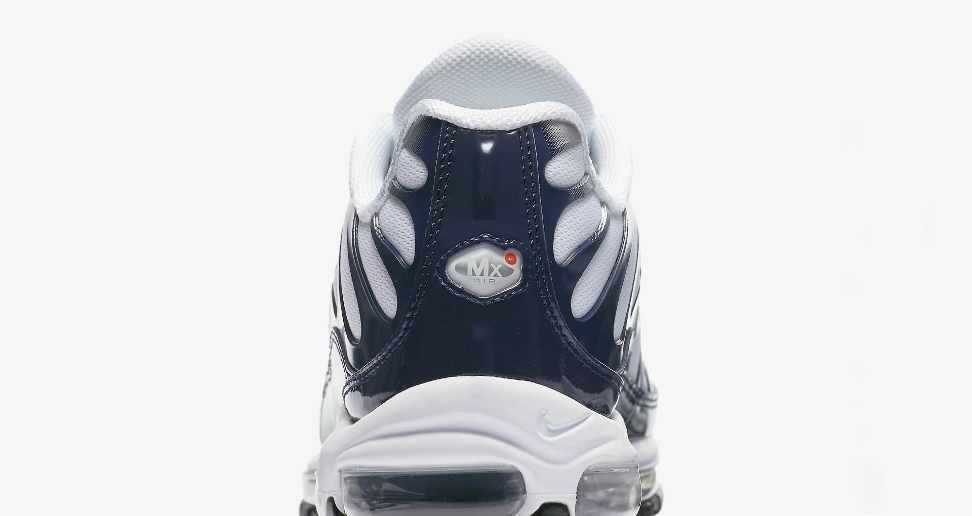 buy online de209 67749 Nike Air Max 97   Plus  Metallic Silver   Midnight Navy  ...