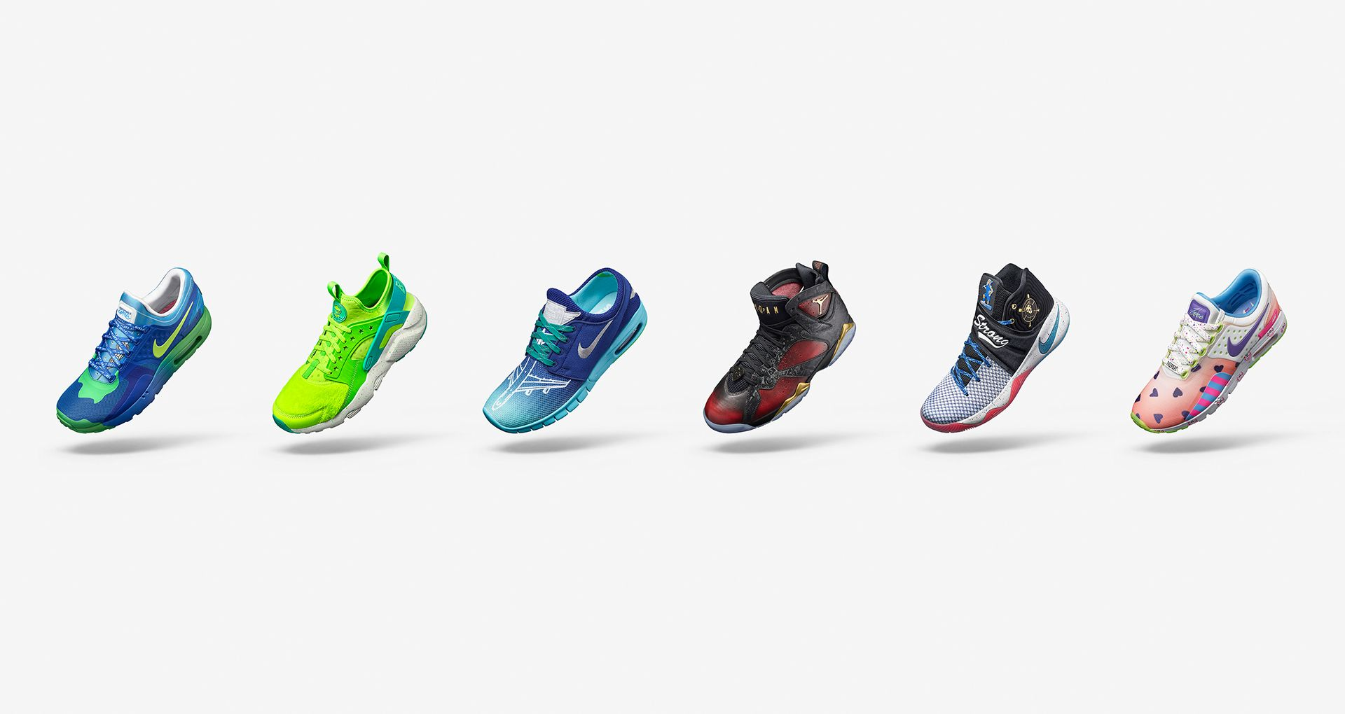 f9658164555 Nike Doernbecher 2016 Freestyle Collection. Nike+ SNKRS