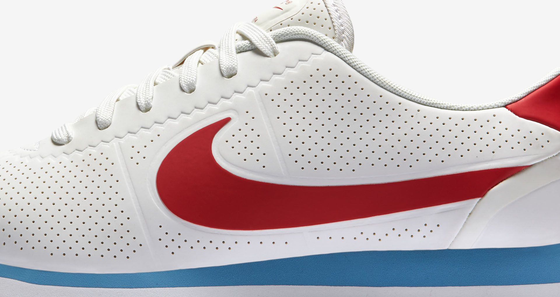 check out 8a990 90779 Women s Nike Cortez Ultra Moire  White, Varsity Red   Blue  Release Date
