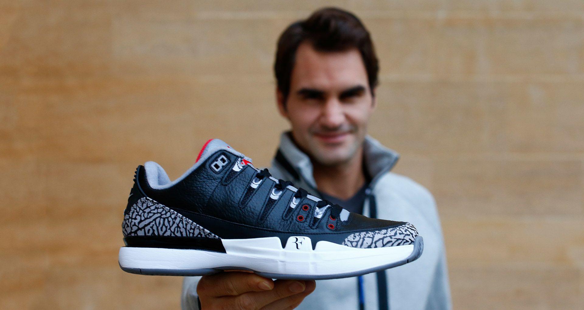 Details zu Nike Zoom Vapor Roger Federer X Air Jordan 3