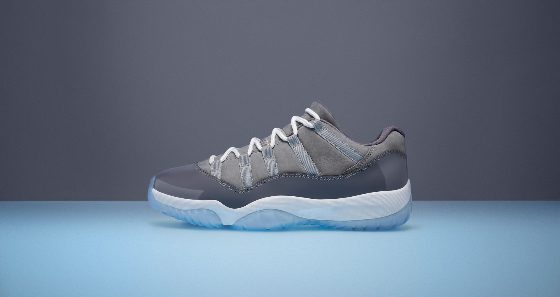 cb2cb7ce4207 Air Jordan 11 Low  Cool Grey  Release Date. Nike⁠+ SNKRS