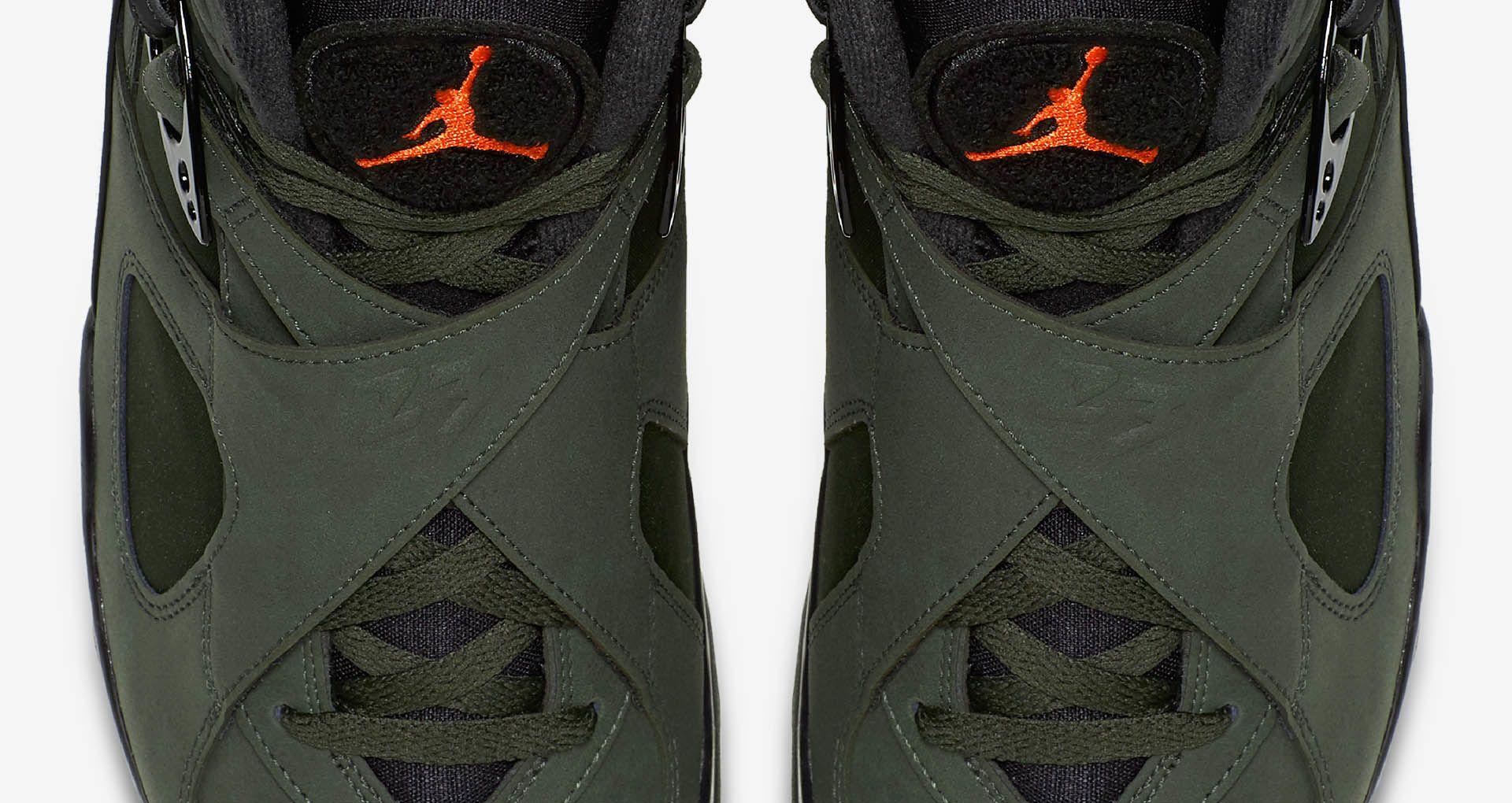 0bf75e9dad2cc Air Jordan 8 Retro  Sequoia   Max Orange . Nike+ SNKRS