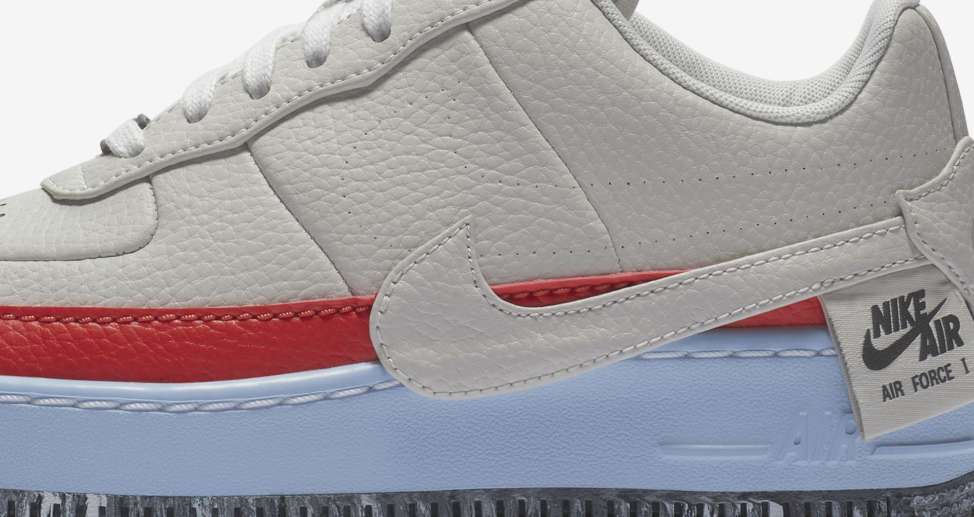 Billig AO1220 100 Nike Air Force 1 Jester XX Reimagined