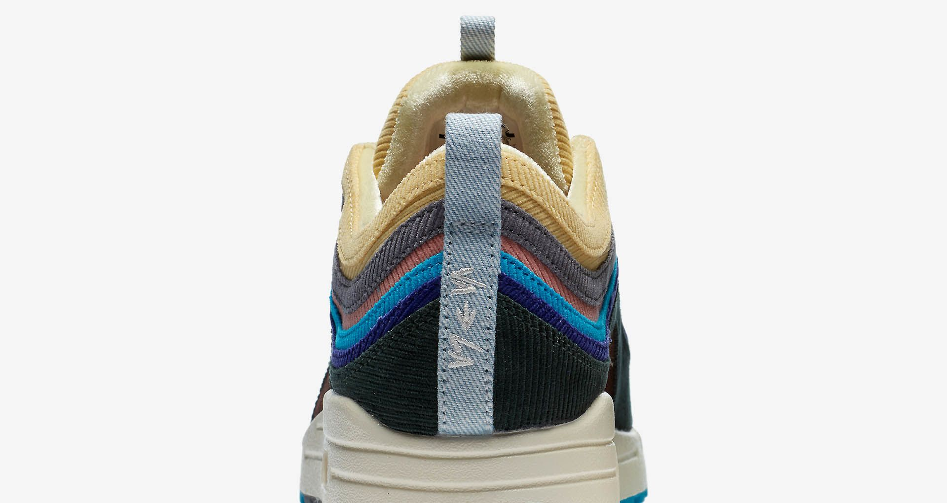 Nike Air Max 97 1 97 Rainbow Sean Wotherspoon Corduroy Mixed AJ4219 400 New Release