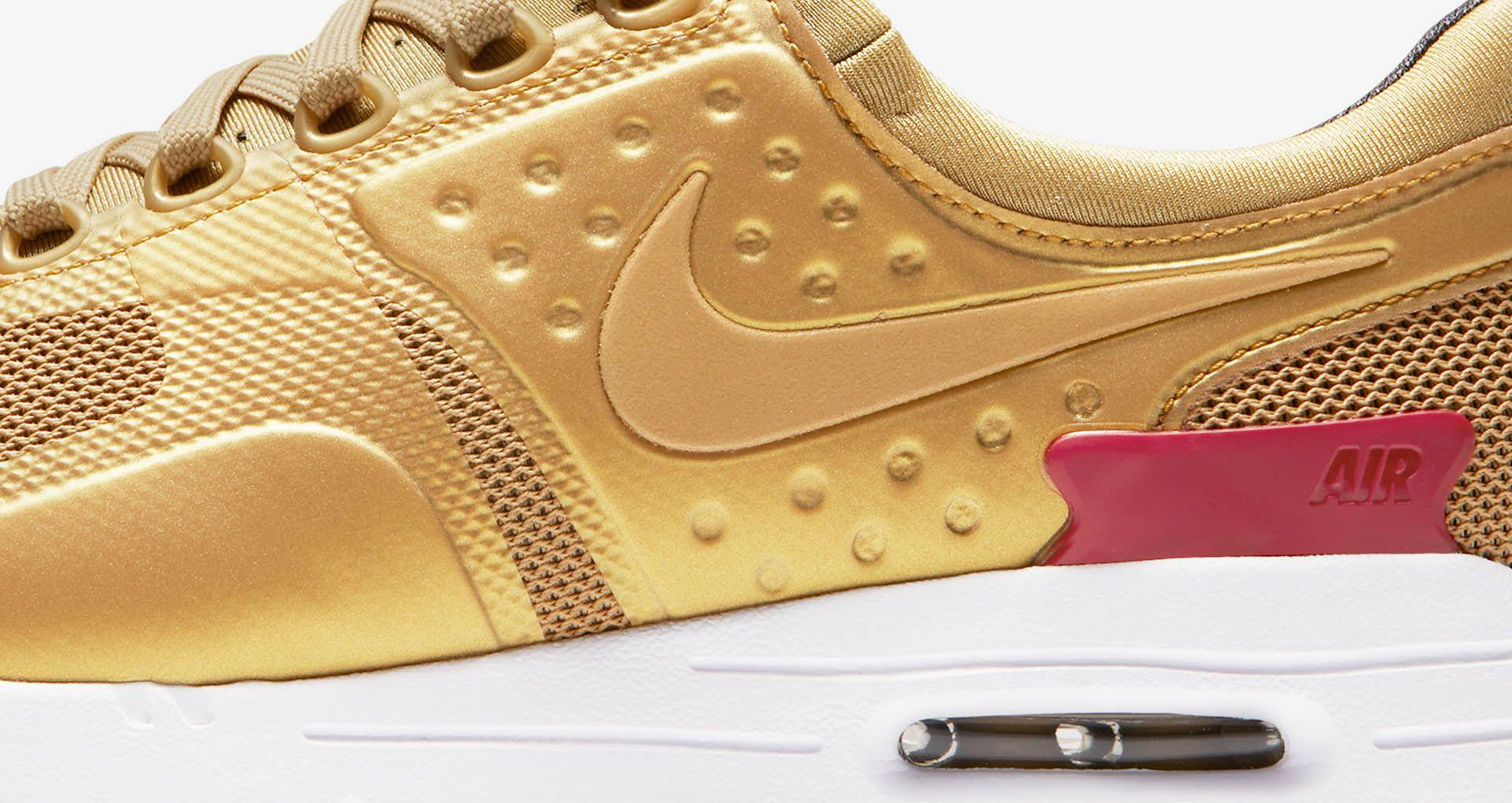 on sale 58fbc a6244 Women s Nike Air Max Zero  Metallic Gold  ...