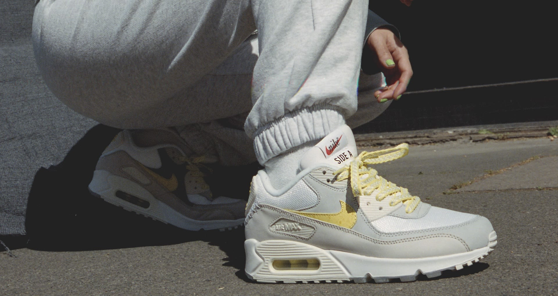 latest discount online retailer sale The Future Is Sampling: Air Max 90 'Side A'. Nike SNEAKRS GB