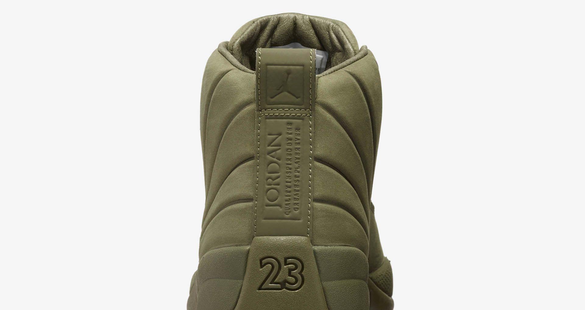 be45654c3e915e Air Jordan 12 Retro PSNY  Medium Olive  Release Date. Nike+ Launch LU