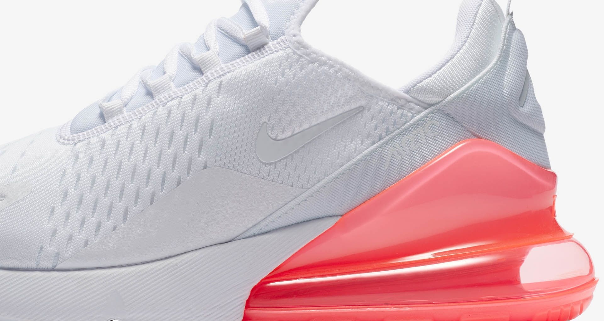 Nike Air Max 270 White Pack 'Hot Punch' Release Date. Nike+