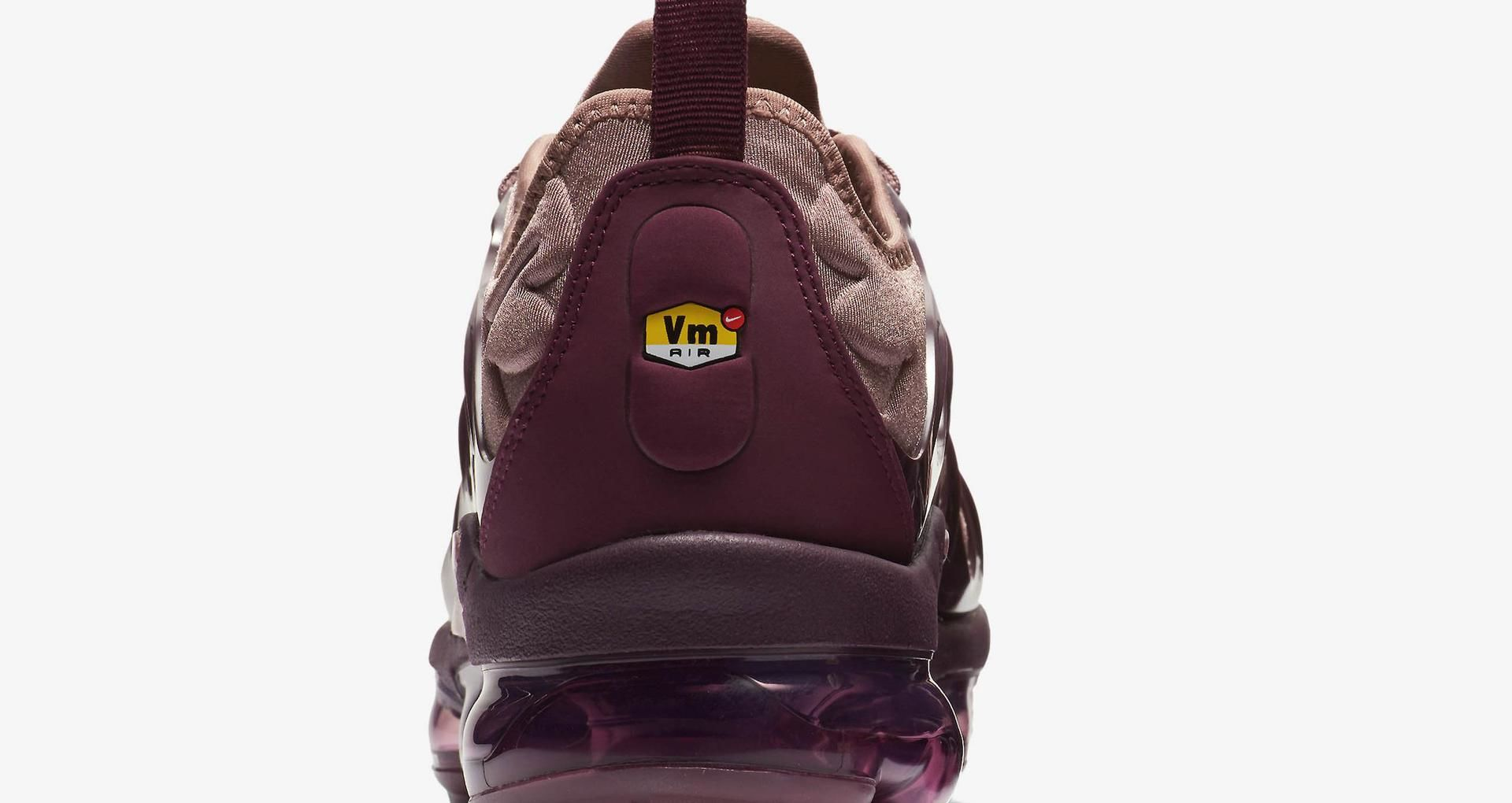 super popular 6742d 5a43f Women's Air Vapormax Plus 'Smokey Mauve & Bordeaux' Release ...
