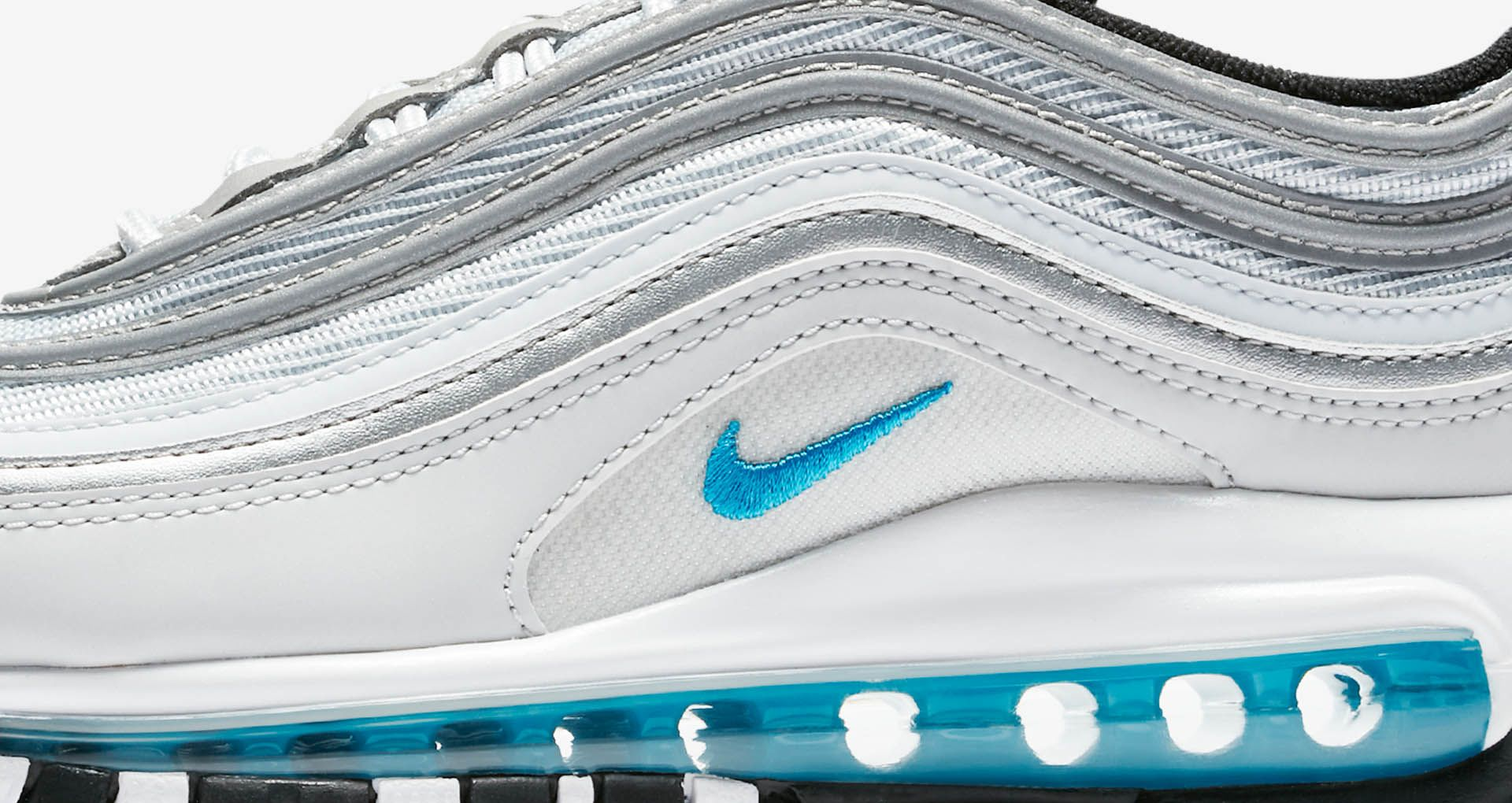 Women's Air Max 97 'Pure Platinum & Metallic Silver & Marina