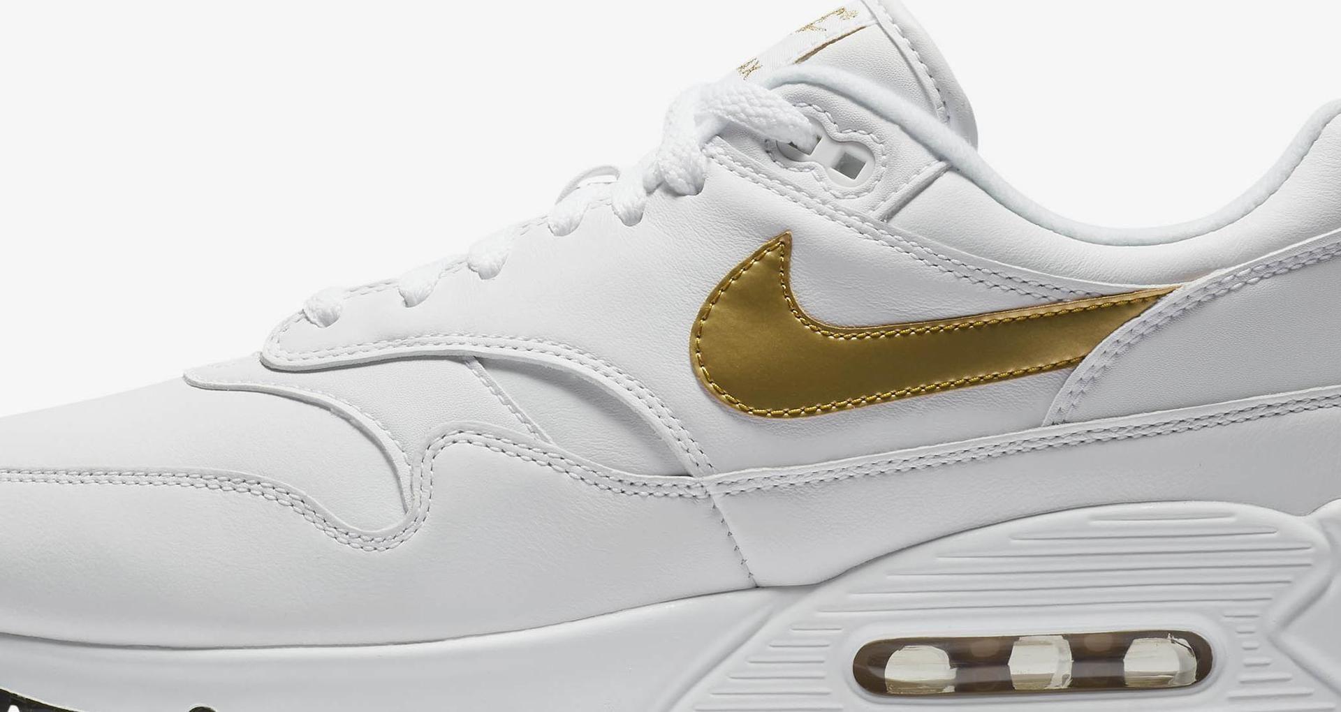 Nike Air Max 901 'White & Metallic Gold' Release Date