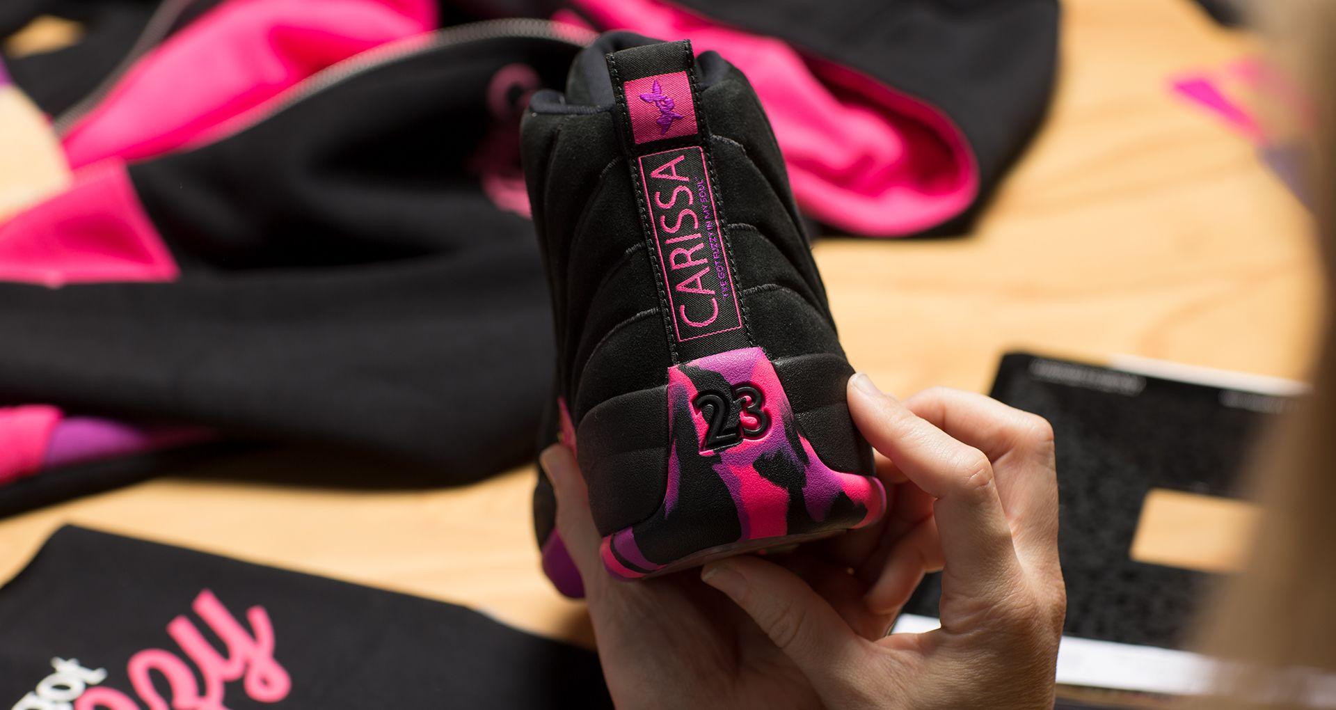 official photos c85ff 0e2fb Behind The Design: Carissa's Air Jordan 12 2017. Nike+ SNKRS