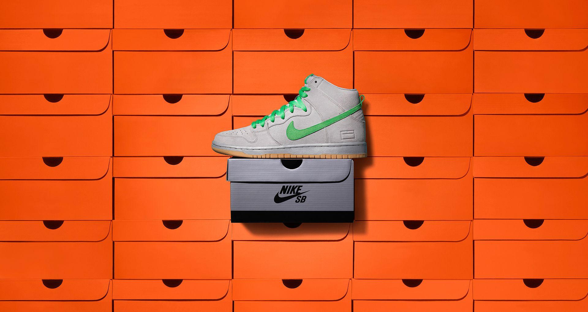 hot sale online 7e7fc d3b40 Dunk High SB Gray Box Release Date. Nike+ SNKRS