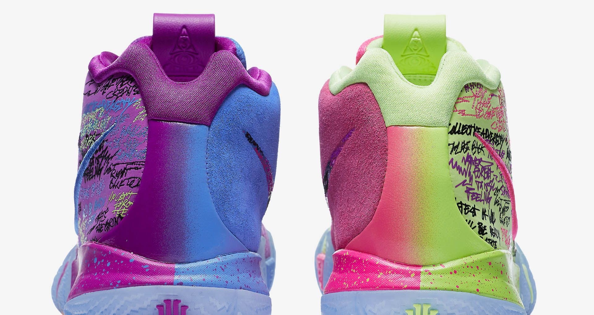 finest selection 3dcb7 8dd3f Nike Kyrie 4 'Confetti' Release Date. Nike+ SNKRS