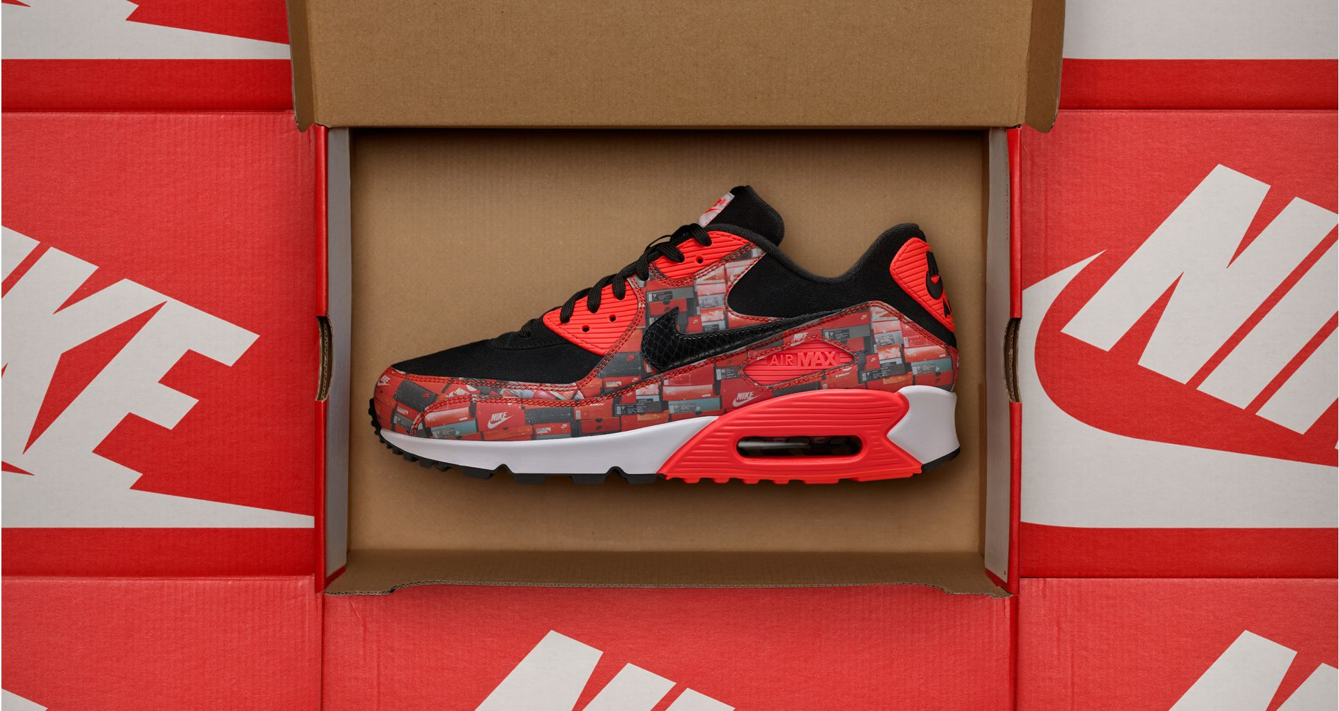 67fa2cd5 Nike Air Max 90 Atmos 'We Love Nike' Release Date. Nike⁠+ Launch NL